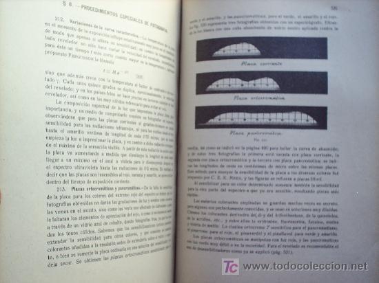Libros antiguos: OPTICA APLICADA 1935 JOSE MAÑAS Y BONVI , EDITORIAL ALTES-CINEMATOGRAFIA , FOTOTIPIA ETC - Foto 12 - 25732718