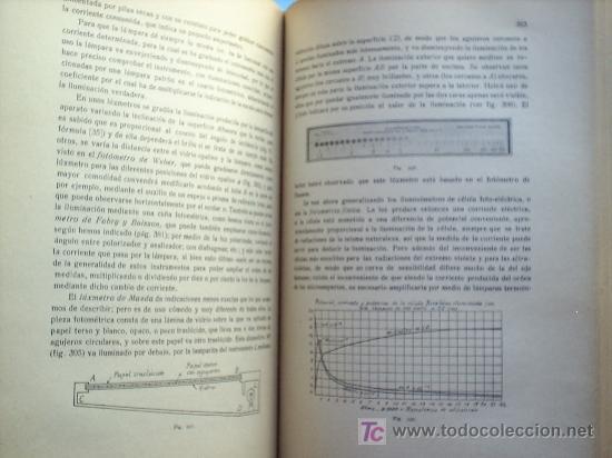 Libros antiguos: OPTICA APLICADA 1935 JOSE MAÑAS Y BONVI , EDITORIAL ALTES-CINEMATOGRAFIA , FOTOTIPIA ETC - Foto 14 - 25732718