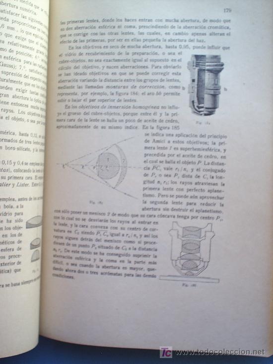 Libros antiguos: OPTICA APLICADA 1935 JOSE MAÑAS Y BONVI , EDITORIAL ALTES-CINEMATOGRAFIA , FOTOTIPIA ETC - Foto 10 - 25732718
