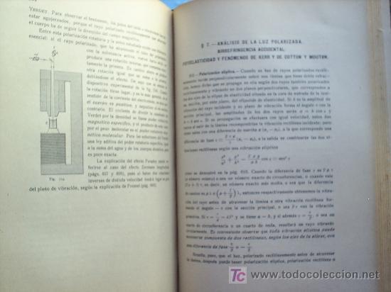 Libros antiguos: OPTICA APLICADA 1935 JOSE MAÑAS Y BONVI , EDITORIAL ALTES-CINEMATOGRAFIA , FOTOTIPIA ETC - Foto 18 - 25732718