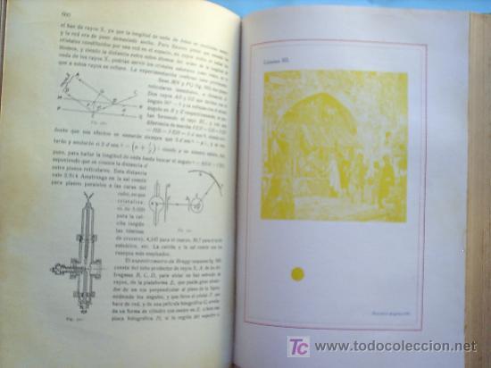 Libros antiguos: OPTICA APLICADA 1935 JOSE MAÑAS Y BONVI , EDITORIAL ALTES-CINEMATOGRAFIA , FOTOTIPIA ETC - Foto 20 - 25732718