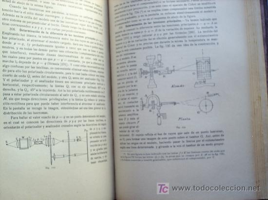 Libros antiguos: OPTICA APLICADA 1935 JOSE MAÑAS Y BONVI , EDITORIAL ALTES-CINEMATOGRAFIA , FOTOTIPIA ETC - Foto 23 - 25732718