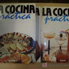 Libros antiguos: COLECCION DE 6 TOMOS DE COCINA PRACTICA ,IDEAS PARA CELEBRAR AÑO 1986.. Lote 18422933