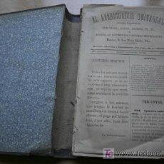 Libros antiguos: AVERIGUADOR UNIVERSAL (EL). CORRESPONDENCIA ENTRE CURIOSOS, LITERATOS, ANTICUARIOS, ETC., ETC.. Lote 17295639