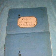 Libros antiguos: NOMBRAMIENTO DE CAPITAN DE MARINA MERCANTE - AÑO 1893.. Lote 27451239