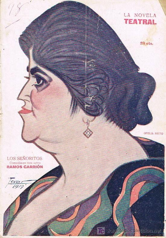 LA NOVELA TEATRAL, LOS SEÑORITOS, Nº 48 (Libros Antiguos, Raros y Curiosos - Literatura - Otros)