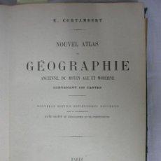 Libros antiguos: NOUVEL ATLAS DE GEOGRAPHIE ANCIENNE, DU MOYEN AGE ET MODERNE. E. CORTAMBERT. Lote 17321228