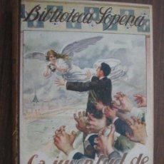 Libros antiguos: LA JUVENTUD DE AURELIO ZALDÍVAR. HERNÁNDEZ CATÁ, ALFONSO. BIBLIOTECA SOPENA 19. Lote 17524248