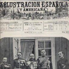Libros antiguos: LA ILUSTRACION ESPAÑOLA Y AMERICANA. REVISTA DE BELLAS ARTES, LITERATURA Y ACTUALIDADES. 1910 (A/ R. Lote 8451686
