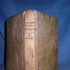 Libros antiguos: ANDRES DE GUEVARA - INSTITUTIONUM ELEMENTARIUM PHILOSOPHIE - AÑO 1819 - PERGAMINO.. Lote 24533684