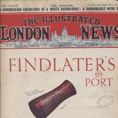 Libros antiguos: THE ILLUSTRATED LONDON NEWS (1928) (A/ REV- 347). Lote 8407421