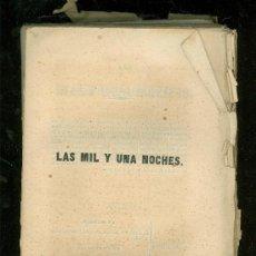 Libros antiguos: LAS MIL Y UNA NOCHES. CUENTOS ARABES. GALLAND. TOMO III. 1846.. Lote 17927233