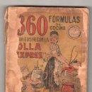 Libros antiguos: MANUAL PRACTICO PARA LA OLLA EXPRES POR CAMILO BELLVIS CALATAYUD.SUCESORES DE RIVADENEYRA 2ª ED.1925. Lote 26851186