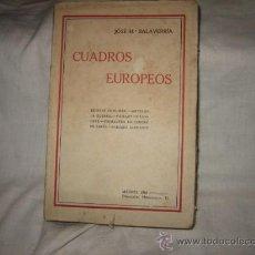 Libros antiguos: CUADROS EUROPEOS ESCENAS EN LA MAR.-ANTES DE LA GUERRA.PAISAJES DE LONDRES.-SALAVERRIA 1916. Lote 18129848