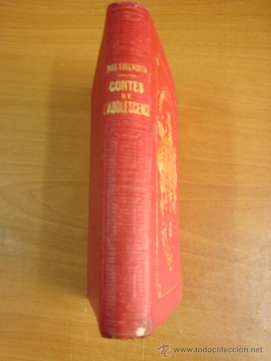 CONTES DE L ADOLESCENCE. CHOISIS DE MISS EDGEWORTH. PARIS. LIBRAIRIE HACHETTE 1869. (Libros Antiguos, Raros y Curiosos - Otros Idiomas)