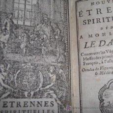 Libros antiguos: ETRENNES SPIRITUELLES DE LE DAUPHIN - CONTIENE 25 GRABADOS, 1778.. Lote 12713082