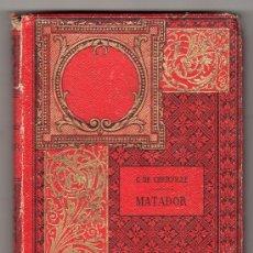 Libros antiguos: MATADOR. G. DE CHERVILLE. PARIS.. Lote 20748977