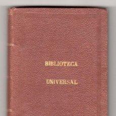 Libros antiguos: MEJORES AUTORES. BIBLIOTECA UNIVERSAL. TOMO XI. 1874.. Lote 18621310
