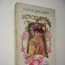 Libros antiguos: LA PECADORA. ARSENIO HOUSSAYE. ED. F. GRANADA. BARCELONA. 2ª ED. 205 PP. 11 X 18 CM.. Lote 18734083