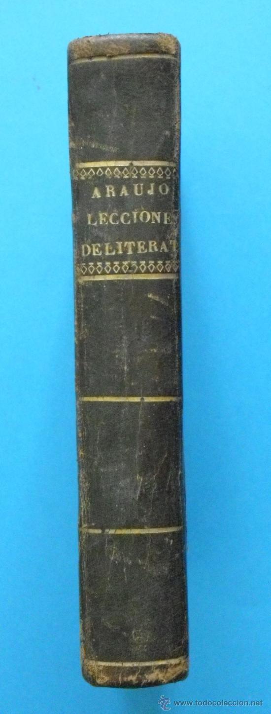 L-040 LECCIONES ELEMENTALES DE LITERATURA POR LUIS DE MATA. MADRID 1841. (Libros Antiguos, Raros y Curiosos - Literatura - Otros)
