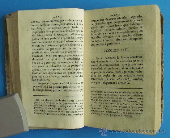 Libros antiguos: L-040 LECCIONES ELEMENTALES DE LITERATURA POR LUIS DE MATA. MADRID 1841. - Foto 3 - 18956879