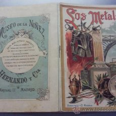 Libros antiguos: COLEGIO ESCOLAR LOS METALES CUENTO INSTRUCTIVO MUSEO DE LA NIÑEZ HERNANDO Y CIA. MADRID. Lote 26339637