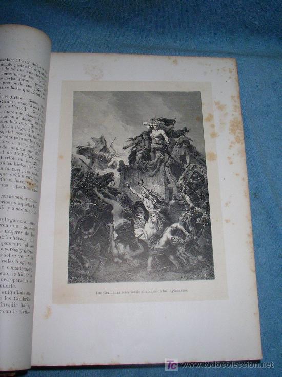Libros antiguos: HISTORIA GENERAL DE ALEMANIA - D.V.ORTIZ DE LA PUEBLA - AÑO 1877 - MONUMENTAL OBRA ILUSTRADA. - Foto 4 - 26487741