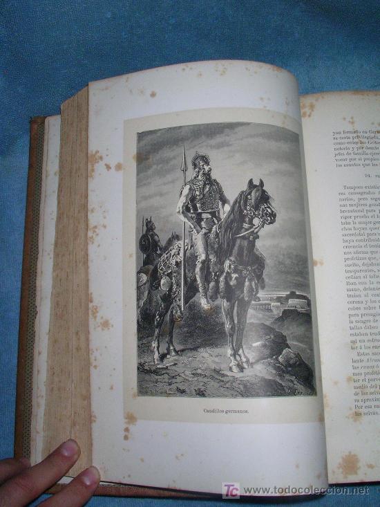 Libros antiguos: HISTORIA GENERAL DE ALEMANIA - D.V.ORTIZ DE LA PUEBLA - AÑO 1877 - MONUMENTAL OBRA ILUSTRADA. - Foto 5 - 26487741
