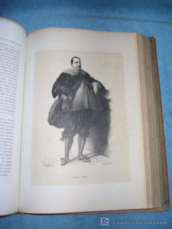 Libros antiguos: HISTORIA GENERAL DE ALEMANIA - D.V.ORTIZ DE LA PUEBLA - AÑO 1877 - MONUMENTAL OBRA ILUSTRADA. - Foto 6 - 26487741