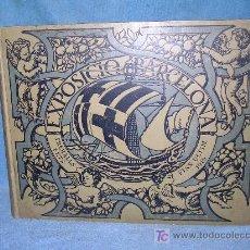 Libros antiguos: EXPOSICIO BARCELONA. TREBALLS FETS FINS ULTIM 1919 - MONUMENTAL OBRA HISTORICA.. Lote 26557259