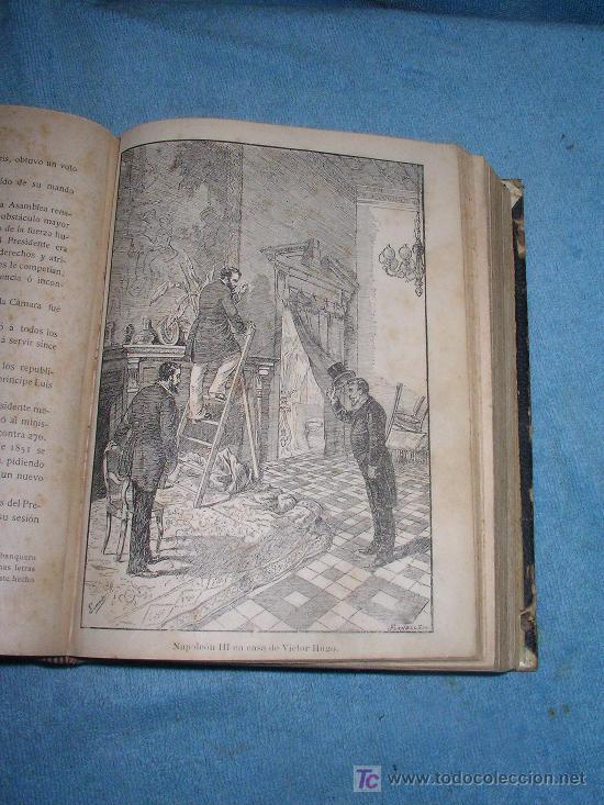 Libros antiguos: HISTORIA DE VICTOR HUGO - CRISTOBAL LITRAN - AÑO 1886 - ILUSTRADA CON MAGNIFICAS LAMINAS. - Foto 4 - 26557258