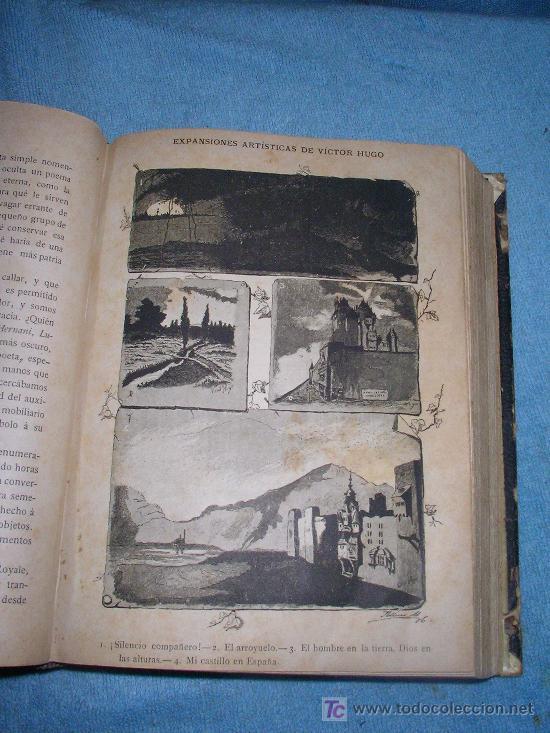 Libros antiguos: HISTORIA DE VICTOR HUGO - CRISTOBAL LITRAN - AÑO 1886 - ILUSTRADA CON MAGNIFICAS LAMINAS. - Foto 5 - 26557258