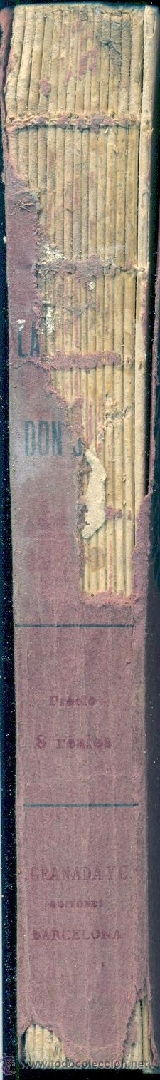 Libros antiguos: LA MUERTE DE DON JUAN • GUERRA JUNQUEIRO. E. MARQUINA / F. GRANADA Y Cª EDITORES. BARCELONA - Foto 2 - 26745840