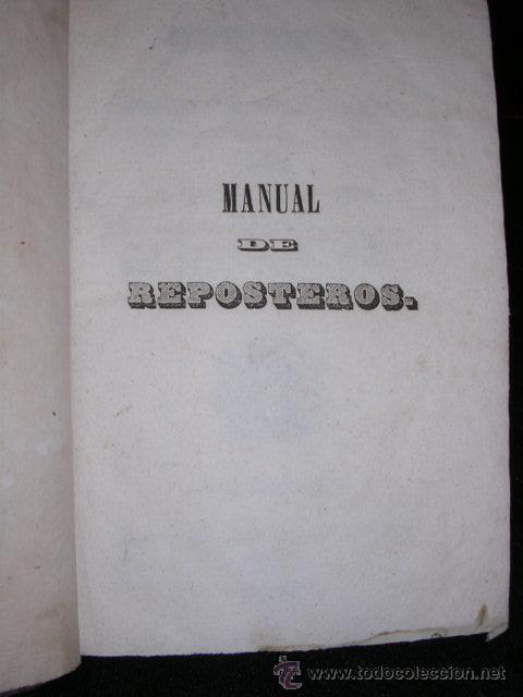 Libros antiguos: M.GARDELI Y MAD.GACON-DUFOUR,MANUAL DE REPOSTEROS,,MANUAL COMPLETO DE LICORISTAS,DESTILADORES,PASTEL - Foto 2 - 26701635