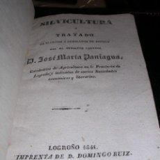 Libros antiguos: D. JOSE MARIA PANIAGUA -SILVICULTURA O TRATADO DE PLANTIOS Y ARBOLADOS DE BOSQUE,. Lote 25679401