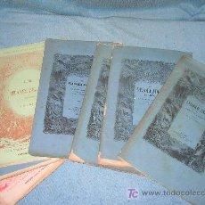 Libros antiguos: OBRAS DE GUSTAVO AYMARD - AÑO 1875 - 7 TOMOS - BELLOS GRABADOS.. Lote 27250221