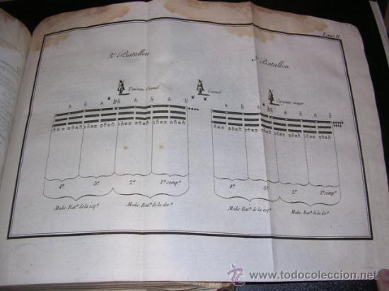 Libros antiguos: REGLAMENTO PARA EL EXERCICIO Y MANIOBRAS DE LA INFANTERIA, MADRID IMPRENTA REAL 1808,MUCHOS GRABADOS - Foto 5 - 26758451