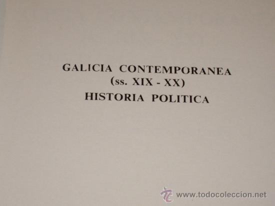 Libros antiguos: HISTORIA POLITICA- TEMATICA GALLEGA - Foto 3 - 27246305