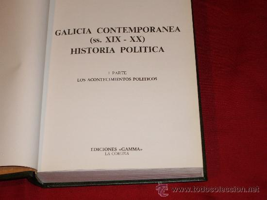 Libros antiguos: HISTORIA POLITICA- TEMATICA GALLEGA - Foto 4 - 27246305