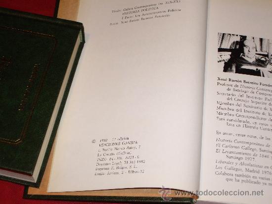 Libros antiguos: HISTORIA POLITICA- TEMATICA GALLEGA - Foto 5 - 27246305