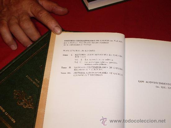 Libros antiguos: HISTORIA POLITICA- TEMATICA GALLEGA - Foto 7 - 27246305