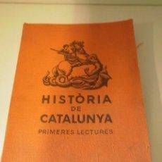 Libros antiguos: HISTORIA DE CATALUNYA 1935. Lote 21910791