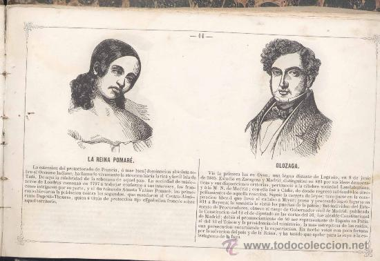 Libros antiguos: 1848.- ÁLBUM BIOGRÁFICO -MUSEO UNIVERSAL DE RETRATOS Y NOTICIAS DE LAS CELEBRIDADES ACTUALES - Foto 2 - 19573172