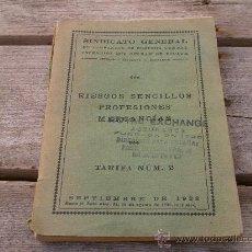 Libros antiguos: LIBRO SOBRE COMPAÑIA SEGUROS AÑO 1928,CURIOSO,COMPAÑIA ASSURANCE. Lote 19655603
