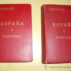 Livros antigos: 1926 NOVISIMA GUIA DE ESPAÑA Y PORTUGAL 57 PLANOS EN COLOR ( MAYOR PARTE DESPLEGABLES) Y DOS MAPAS. Lote 25227591