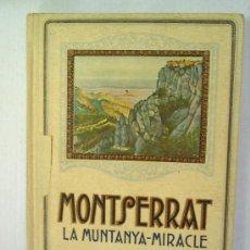 Libros antiguos: MONTSERRAT , LA MUNTANYA - MIRACLE , 1929 , PER SALVADOR ROCA. Lote 23353737