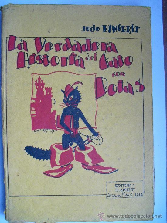La Verdadera Historia Del Gato Con Botas De Jul Sold Through