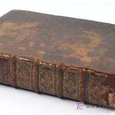Libros antiguos: COCINA. NOUVELLE INSTRUCTION POUR LES CONFITURES, LES LIQUEURS, ET LES FRUITS. 1724, CON GRABADOS.. Lote 27151016