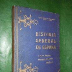 Libros antiguos: HISTORIA GENERAL DE ESPAÑA Y DE LAS NACIONES AMERICANAS ESPAÑOLAS VOL.1 - A. CARCER DE MONTALBAN. Lote 20442806