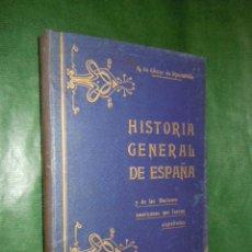 Libros antiguos: HISTORIA GENERAL DE ESPAÑA Y DE LAS NACIONES AMERICANAS ESPAÑOLAS VOL.2 - A. CARCER DE MONTALBAN. Lote 20442830